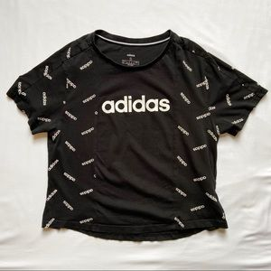 Adidas Patterned Logo Shirt